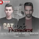 حمیدرضا ذاکری و احمد بهادری آهنگ جدید و بسیار زیبا و شنیدنی به نام پژمرده